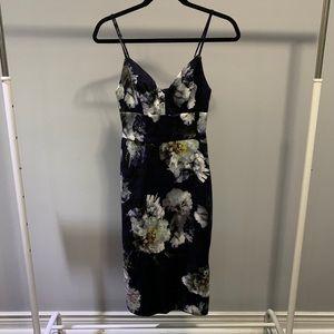 Dynamite floral dress